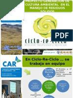 Presentacion Ciclo Reciclo Agosto 2014