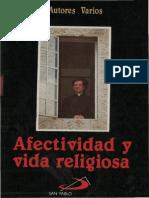 - Afectividad y Vida Religiosa