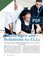 domain c article - strategies for els