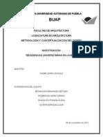 Investigacion Residencias Universitarias en La Buap