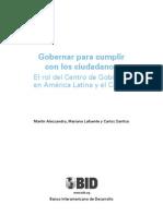 El Rol Del CDG Agenda de Fortalecimiento