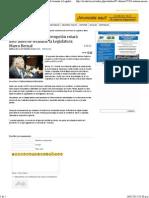 4-02-15 Sistema Nacional Anticorrupción estará listo antes de terminar la Legisladura. Marco Bernal