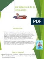 Planificación Didáctica de La Estimulación