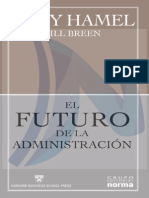 El Futuro de La Administracion Tapa Rustica