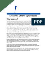 American Cancer Society - Chronic Lymphocytic Leukemia