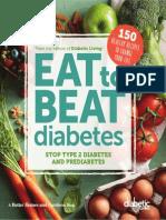 DIABETIC LIVING EAT TO BEAT DIABETES by Diabetic Living