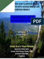 Residual and Sedimenter Deposit