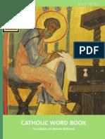 CATHOLIC WORD BOOK