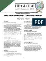 The Globe - January/February 2015