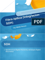 Fibra Optica Integracion SDH