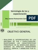 Semiologia de Tos y Espectoracion