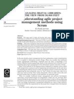 Understanding Agile Project Management Methods Using