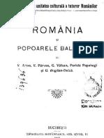 Vasile Parvan s.a - Romania Si Popoarele Balcanice