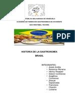 Trabajo Gastronomia Brasilenìƒa.