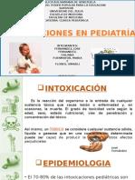 intoxicación en pediatría