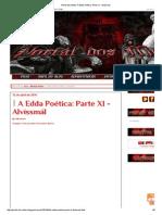 Portal Dos Mitos_ a Edda Poética_ Parte XI - Alvíssmál