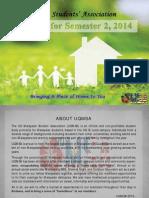 UQMSA Newsletter 2014 Sem 2
