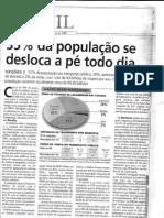 Artigo O Povo 35% a pé