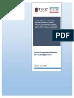 Instructivo Certificación Iquique 2013
