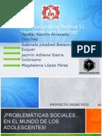 PROBLEMÁTICAS SOCIALES