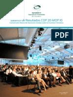 Balance de Resultados COP 20. Suswatch