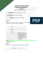Evaluacion Unidad 4 Algebra y Principios de Fisica