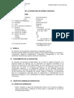 SILABO  QUIMICA ORGANICA-Enfermeria-2008-0