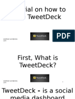 How to use TweetDeck.pptx