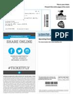 LIC Ticket