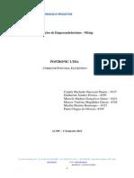 Postronic - Capa corretora postural eletrônica