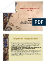 Pengertian & Sejarah Batik