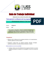Guia Trabajo Individual 2014-II Lectura Redaccion