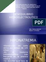 DESEQUILIBRIO HIDROELECTROLITICO PRESENTACION