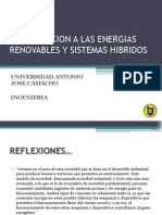 1. Introduccion a Las Energias Renovables y Sistemas Hibridos - Uniajc 2014 2