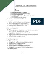 Neonatal Gastroschisis Guideline