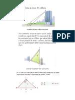 Problemas Geometría Plana Triángulos