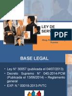 Ley de Servicio Civil...