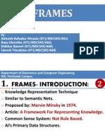 Frames Artificial Intellegence