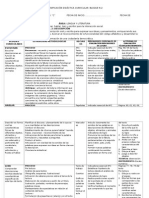Planificación Didáctica Curricular