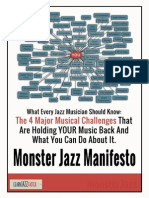 Monster Jazz Manifesto