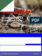 11 Ecologia i 12-o Ecologia de La Reproduccion