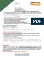 1. Documentação Para o Visto de ESTUDANTE _(Até 6 Meses_) - UP Study