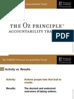 OZ Accountability Training