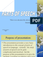 A Parts of Speech