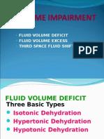 Volume Impairment