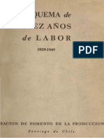 Corfo - Diez Años de Labor 1939-1949