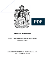La Independencia Judicial en el Perú