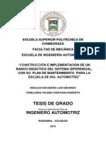 Construccion e Implementacion de Un Banco Didactico Del Sistema Diferencial Para La Escuela de Ing. Automotriz (1)