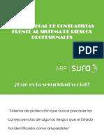 Manejo Legal de Contratistas Frente Al Sistema de Riesgos Profesionales