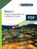 Tarecpir Project Spec Inst Guide